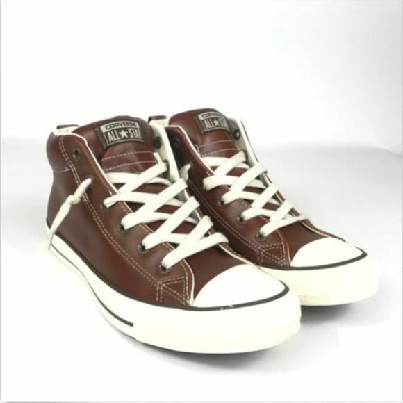 Converse Ct Street Slip On Mid Leather